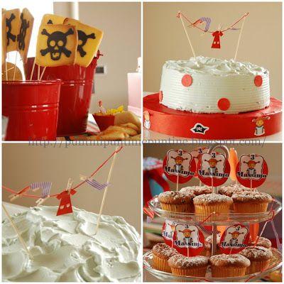 Ispirazioni per una festa a tema Pippi Calzelunghe http://puntinipuntiniepuntine.blogspot.it/2011/02/festa-pippi-calzelunghe.html