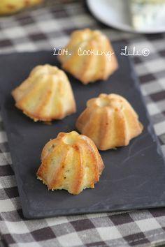 bouchées poire roquefort