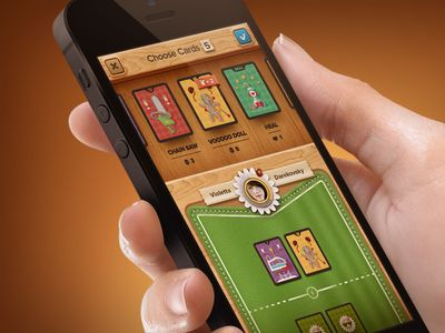 The Card Game Screen