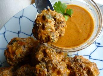 Delicious Thai Meatballs