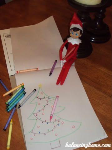 Elf on the Shelf Ideas @Lauren Davison Davison Inglis-Anderson