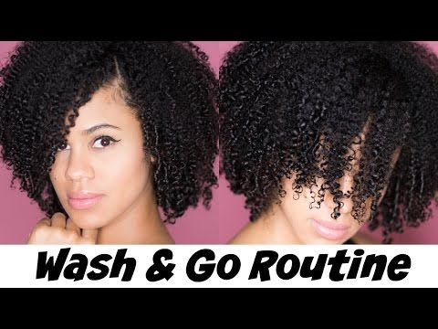 My Most Defined Wash & Go Routine [Video] - Black Hair Information