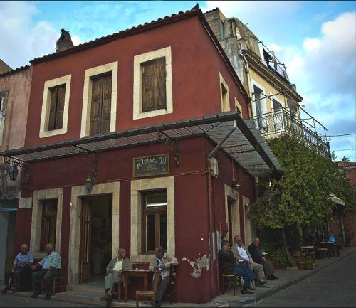 "O καφενές ~ Τraditional Café ""kafenio"" ""  photo by george gavrilakis"