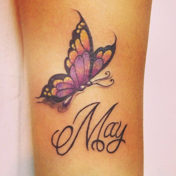 33 best butterfly tattoos on arm images on pinterest for Butterfly tattoo arm designs