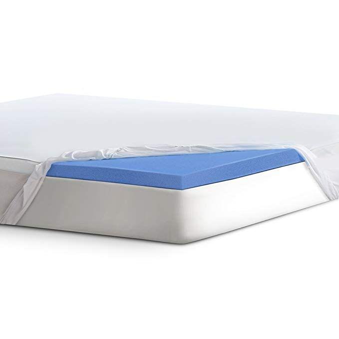 Serta 2 Lasting Dream Gel Infused Memory Foam Mattress Topper Queen Review Memory Foam Mattress Topper Mattress
