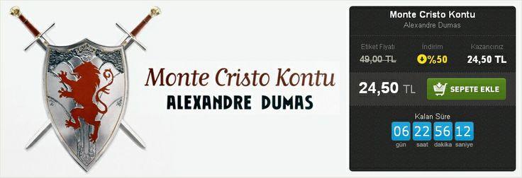 Günün Fırsatı: %50 İNDİRİM!  Monte Cristo Kontu Alexandre Dumas İthaki Yayınları  http://www.hesapkitap.com/monte-cristo-kontu-187.html
