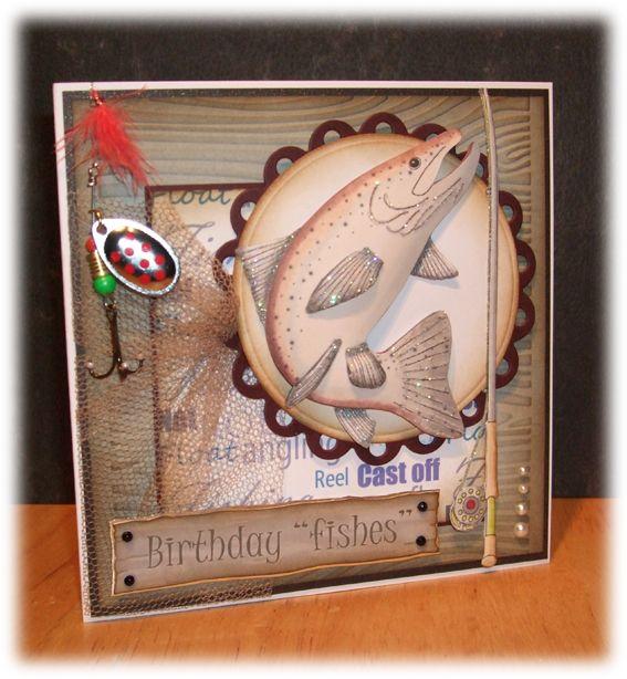 Ella's Design: Fishing card