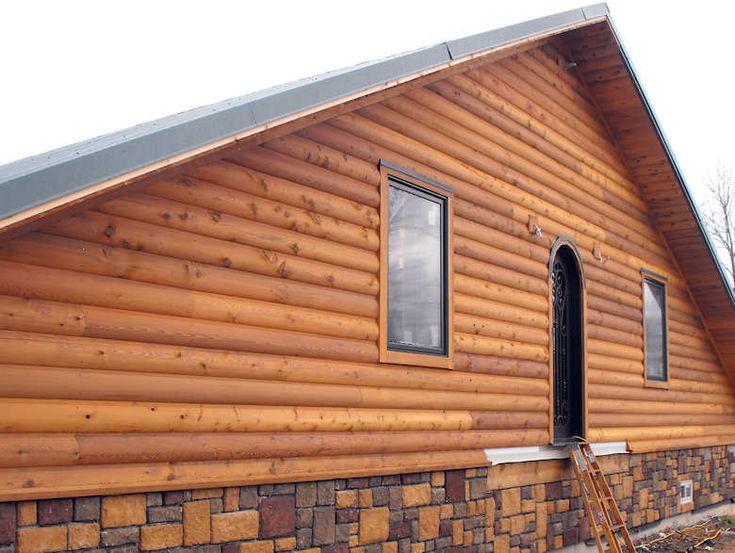 82 best house building images on pinterest building a E log siding