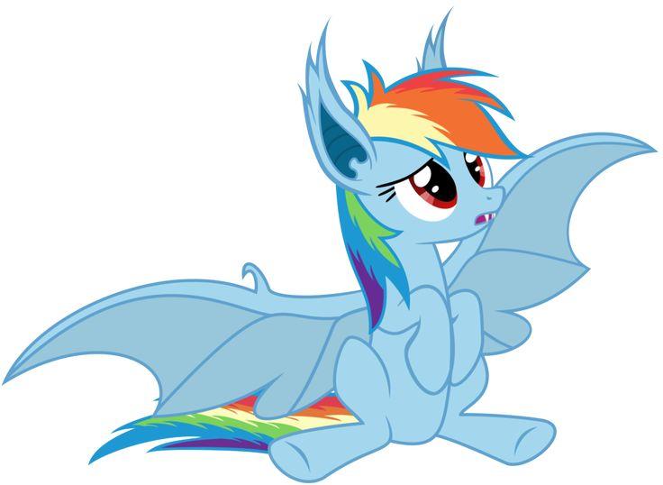 22 best bat ponies images on pinterest - My little pony en humain ...