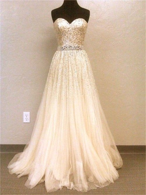 DIYouth.com Stunning Sequins Beaded Prom Dresses Sash Nude Floor Length Crystal Evening Gowns,Backless prom drsses, Tulle homecoming dresses,Sweetheart bridesmaid dresses,prom dresses 2015,Tulle prom dresses prom dress #promdress .http://www.newdress2015.com/prom-dresses-us63_1/p3