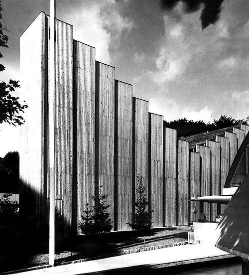 Reima & Raili Pietilä | Finnish Pavilion , Brussels 58