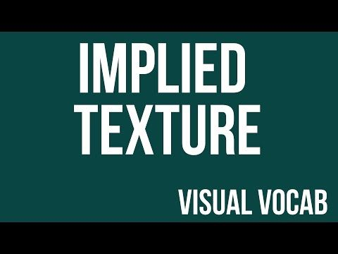 Implied Texture defined - From Goodbye-Art Academy - YouTube