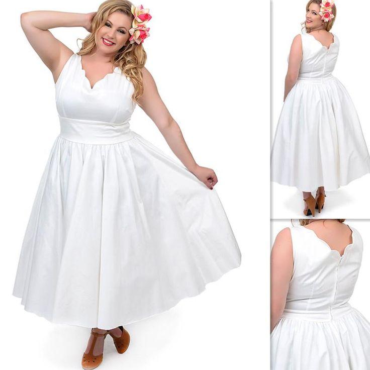 Plus Size Ankle Length Cocktail Dresses