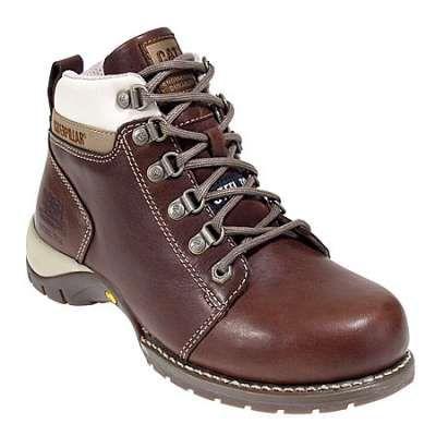 Caterpillar 89674 Women's Steel Toe Chocolate Carlie Hiking Boot