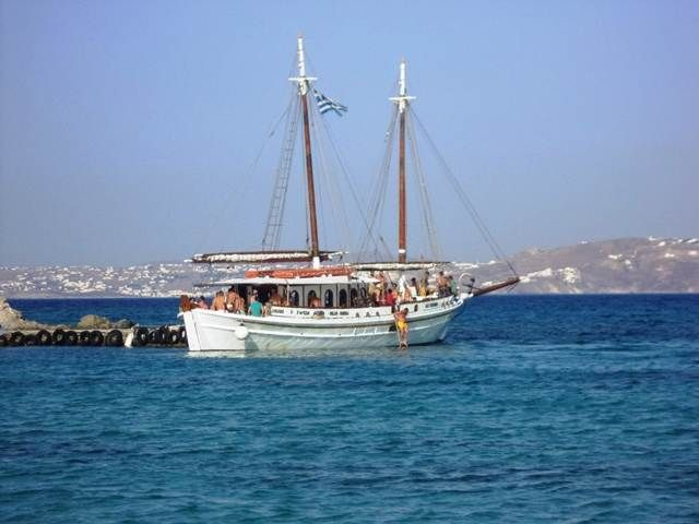 There is still space on the Special Gay Cruise to Delos & Rhenia islands from Mykonos: an 8 hour cruise incl. a guided tour to Delos, plenty of swimming in empty coves & beaches plus a rich lunch & free drinks on board on August 21st. 2015. Book now with us: