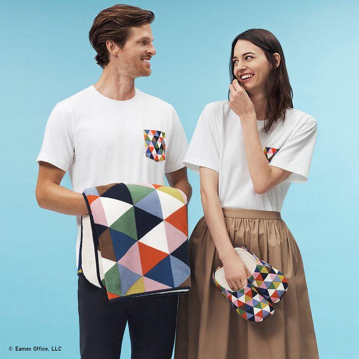 UNIQLO Launches the SPRZ NY EAMES Collection - Design Milk