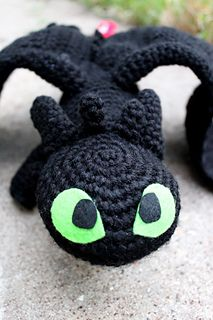 "Free ""Toothless"" corchet pattern <3"