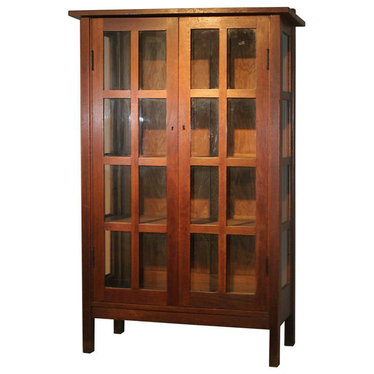 stickley style bookcase craftsman style furniture american craftsman