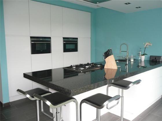17 beste idee n over gele keukens op pinterest gele keukenmuren gele keuken verf en gele verf - Kleur verf moderne keuken ...