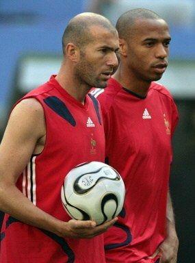 Zidane & Thierry Henry
