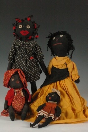 Love the personality of these Black Americana Dolls