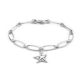 Elsa Peretti® Starfish bracelet in sterling silver.