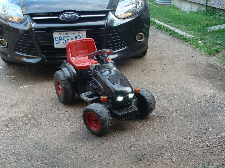 peg perego john deere tractor, 14v mod, power wheels