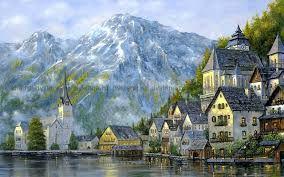 Картинки по запросу картины озера