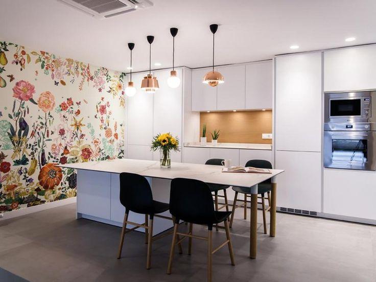 Best 25 cocina con isla central ideas on pinterest isla for Cocinas modernas con isla central