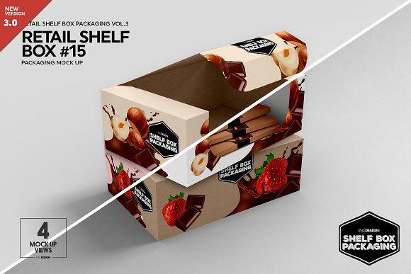 Download Retail Shelf Box 15 Packaging Mockup Packaging Mockup Retail Shelving Box Packaging