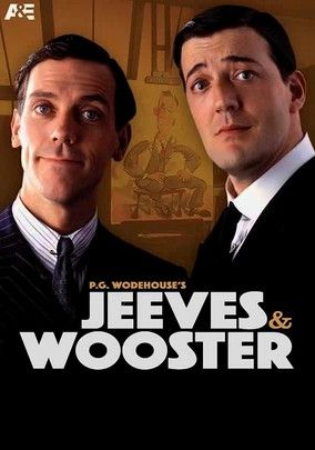 Love this Brit series with Hugh Laurie and Stephen Fry. Jeeves and Wooster (1990) Based on P.G. Wodehouse's popular novels, this comedy series follows Jeeves, a laconic butler who must regularly (and often clandestinely) rescue his knuckleheaded aristocratic master, Bertie Wooster, from romantic and other entanglements.