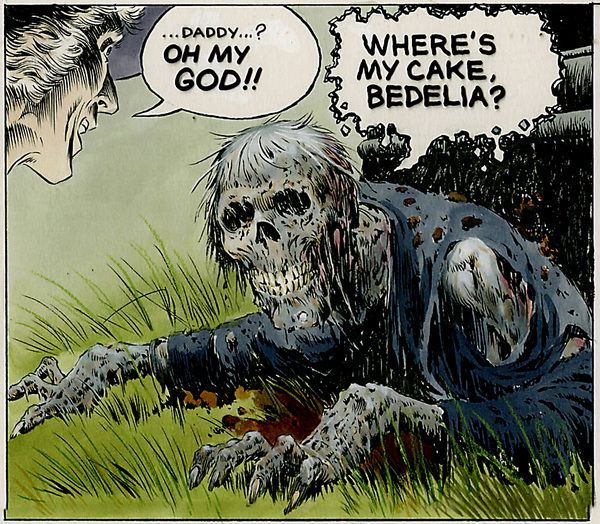 monsterman:  Creepshow (Movie Adaption) Art by Bernie Wrightson