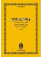 TSCHAIKOWSKY P.I. - THE NUTCRACKER Suite Op. 71a - € 17,00 Orkest klassiek, Zakpartituur, EULENBURG ETP824