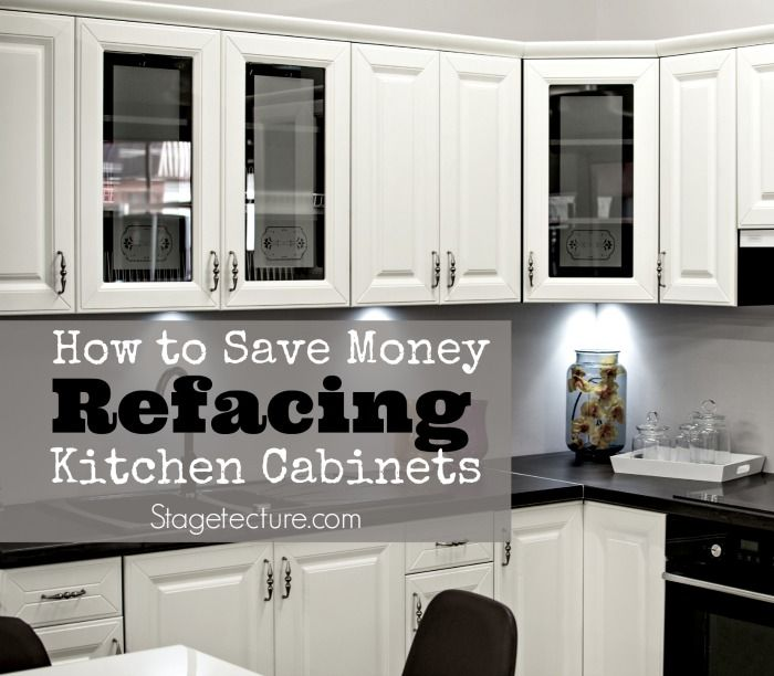 Cabinet Refacing Cost For New Fresh Home Kitchen: 1000+ Ideas About Refacing Kitchen Cabinets On Pinterest