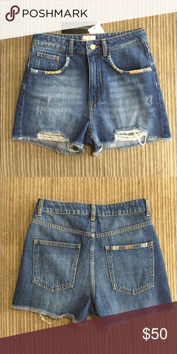 French Connection - jean shorts - NWT French Connection - Jean shorts - NWT - smoke/pet free seller - make offer. French Connection Shorts Jean Shorts