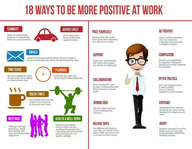 Be more positive!