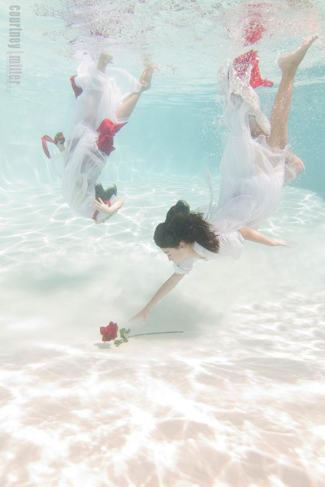 Underwater wedding photography!  Weddings | Underwater | Newborn | Beauty/Fashion | Seniors | Family | Portraiture | Parties