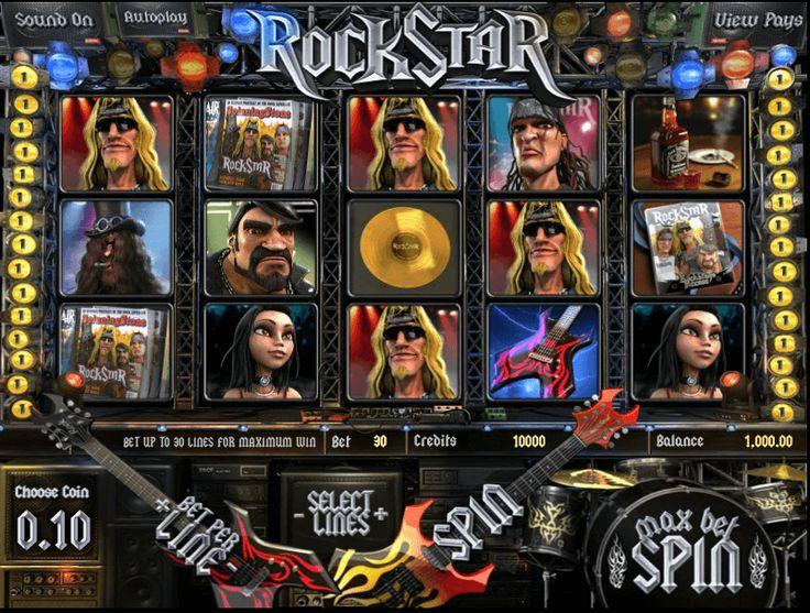 Rock Star Slot Machine
