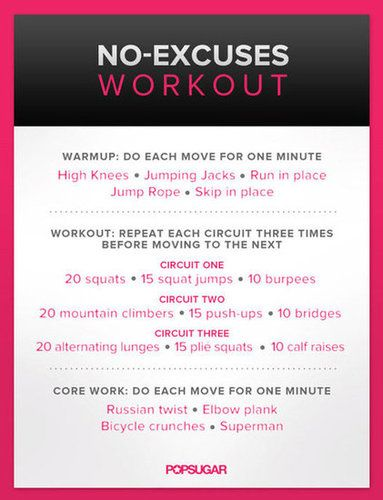 when u don't feel like going to the gym...get it done at home!