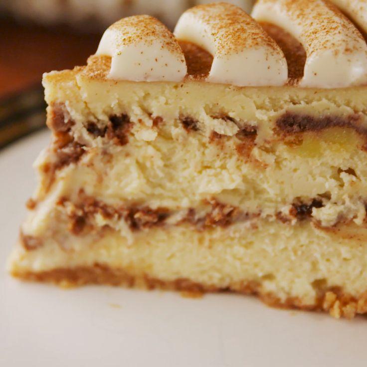 Amo la canelaaa! Si eres como yo te recomiendo este cheesecake