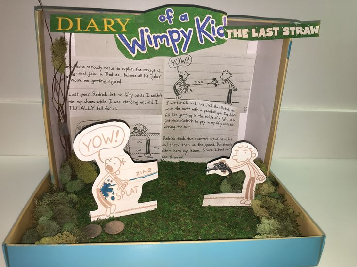 23 best kids shoe box diorama project images on Pinterest ...
