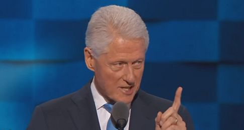 Bill Clinton attempts to humanize Hillary in DNC speech