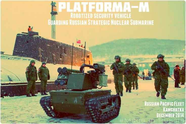 #Platforma #PlatformaM #Robot #PacificOcean