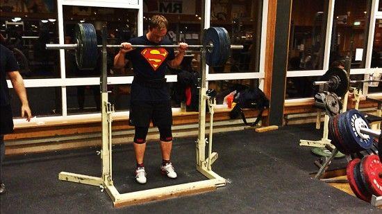 Sheiko träningsprogram styrkelyft