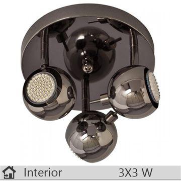 Plafoniera iluminat decorativ interior Klausen, gama LIN, model PL3
