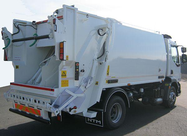 NTM K2K śmieciarka na podwoziu DAF, refuse truck, rear loader, garbage vehicles, Kommunalfahrzeuge, Benne a ordures, Recolectores, piccoli camion, Carico posteriore