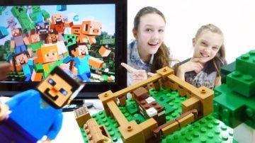 Основы Майнкрафт от лучших подружек Вари и Юли. Видео игры для детей. http://video-kid.com/9692-osnovy-mainkraft-ot-luchshih-podruzhek-vari-i-yuli-video-igry-dlja-detei.html  Что такое Майнкрафт? Лучшая подружка Варя объяснит Юле про Minecraft креатив. Будем строить загон для майнкрафт коровы и свиньи по образцу Лего (Lego Minecraft). Ну и конечно про Стива не забудем - что же для него придумать? Уфф.. всего то работы на 3 дня! А за сколько со строительством в крафте справляетесь вы? Ставьте…