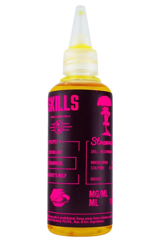 Купить жидкость для электронных сигарет SKILLS Strawreal (Клубничная глазурь) 100 мл 6 мг