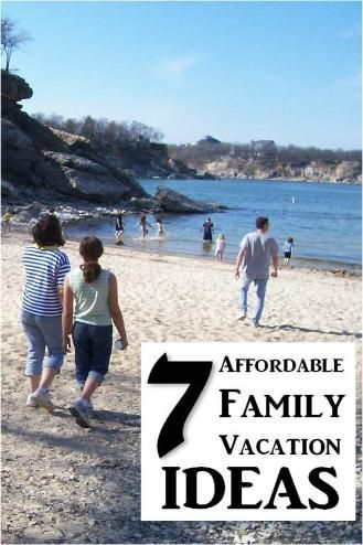 7 Affordable Family Staycations - With these ideas you can enjoy time with the family without breaking the budget.