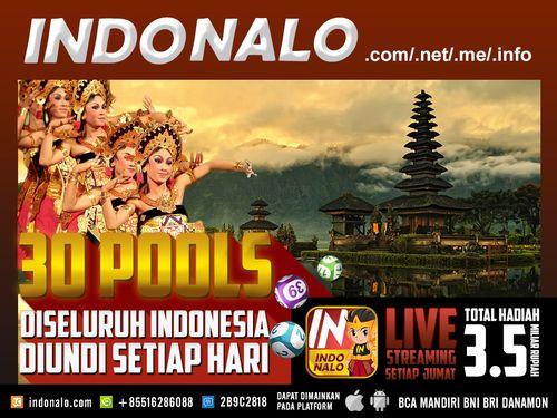 Pools Indonesia Online Nalo : http://www.indonalo.net Agen Togel Online Indonesia Menghadirkan  Togel atau Pools 30 Kota Di Indonesia Pertama dan Satu-  Satunya di Indonesia DIUNDI SETIAP HARI http://goo.gl/qLSlS0  Main Live Streaming Setiap Hari Jumat,  Total Hadiah 3.5 Miliar Rupiah ( 1st @ Rp.1M , 2nd @  Rp.500Jt , 3rd @ Rp.250Jt ) http://goo.gl/qLSlS0  Semua Jadwal dan Hasil keluaran akan mengikuti Waktu  Indonesia Barat (WIB)  Diskon yang diberikan http://www.indonalo.net sangat berbeda…